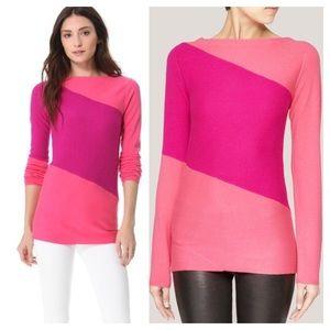 Diane von Furstenberg Sweaters - Diane Von Furstenburg Nora Colorblock Cashmere Bln