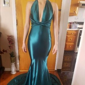30036bc04de alamour the label Dresses - PROM Alamour the label Lena Multiway Gown  -Emerald