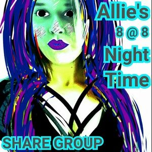 CLOSED!!     MONDAY night share group APRIL 10th