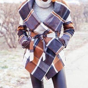 Chicwish Jackets & Blazers - NWOT Chic Wish Prairie Rabato Coat