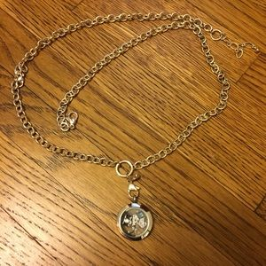 Jewelry - Origami Owl Necklace w/ Charms