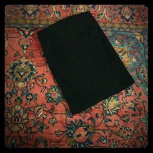 Ripe Maternity Dresses & Skirts - Black knee length maternity skirt