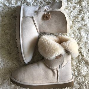 UGG Shoes - UGG cream bailey button boot size USA 6