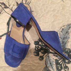 Colin Stuart Slides Mule Shoes 7.5