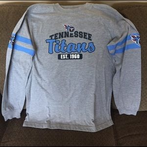 Boys Tennessee Titans Long Sleeve Shirt