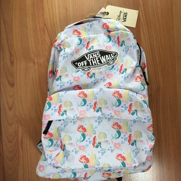 520be419058 Vans Disney Little Mermaid Backpack