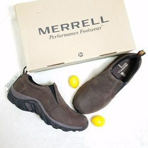 Merrell Other - Merrel Men's Jungle Moc Nubuck Brown Hiking Boots