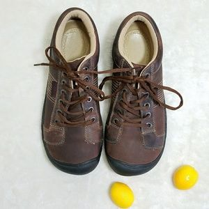 Keen Other - Men's Keen Brown Hiking Work Brown Leather Boots