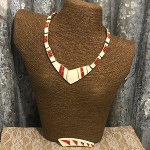 Vintage Jewelry - ♨New Listing ♨ Vintage Trifari Necklace & Brooch