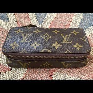 Louis Vuitton Monte Carlo PM Jewelry Case 💕FIRM💕