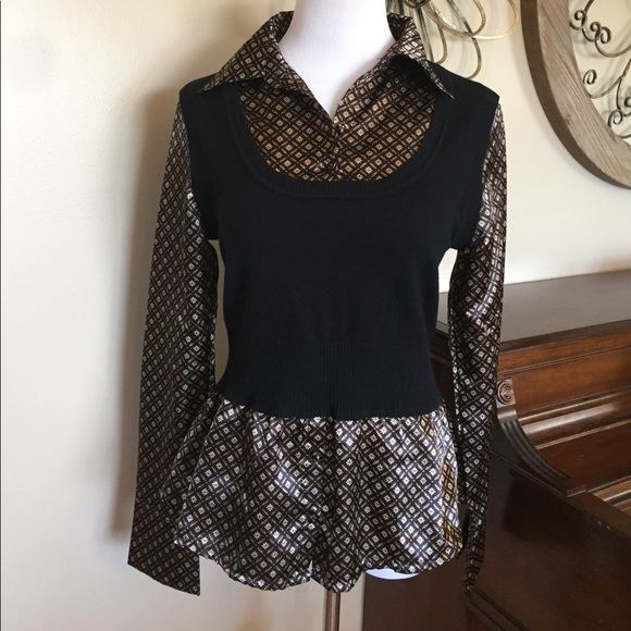 2a1bf8d9e4ce49 HeartSoul Tops - HeartSoul Juniors Large Dressy Shirt Top