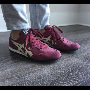 Onitsuka Tiger Other - Onitsuka Tiger Red Suede Fashion Sneakers