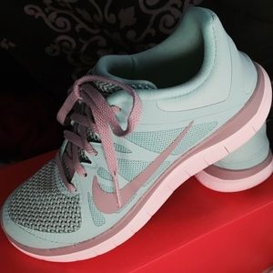 Nike Shoes - Tiffany Blue Nike free runs