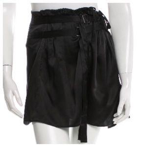Ann Demeulemeester Dresses & Skirts - Ann Demeulemeester Belted Silk Mini Skirt FR 40 8