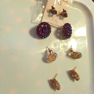 Bundle of earrings/1 pair BetseyJohnson