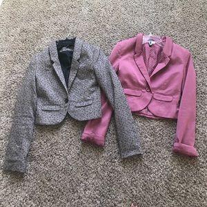 Bundle of H&M blazers