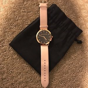 Christian Paul Accessories - Christian Paul blush black and gold watch