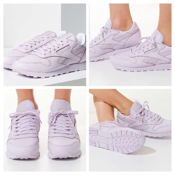 Reebok Classic Leather Spirit shoes purple