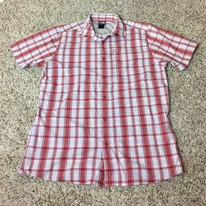 The North Face Other - North Face Mens Short Sleeved Button Down Shirt