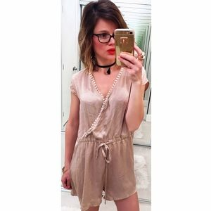 Sabo Skirt Pants - ➡Sabo Skirt Blush Nude Romper⬅