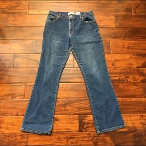 Levi's 550 Relaxed Frayed Bootcut Jeans 10M GUC