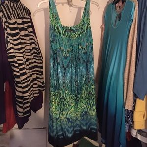 """Glamour & Co. Dresses & Skirts - """"Deep sea"""" theme dress from local boutique"""