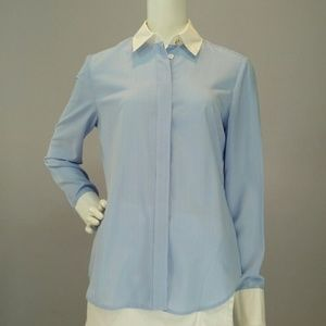 Altuzarra for Target Tops - Blue/White Striped Altuzarra for Target Shirt Sz S