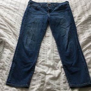 J. Crew Miller wash stretch skinny jeans