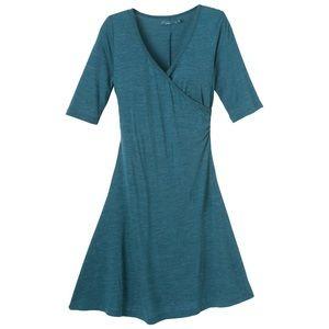 PrAna faux wrap dress