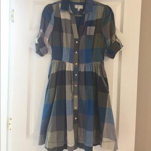 Plaid Shirt Dress by Moulinette Soeurs
