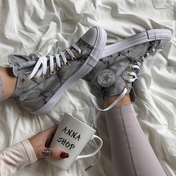 Converse Shoes | Nwt Custom Marble