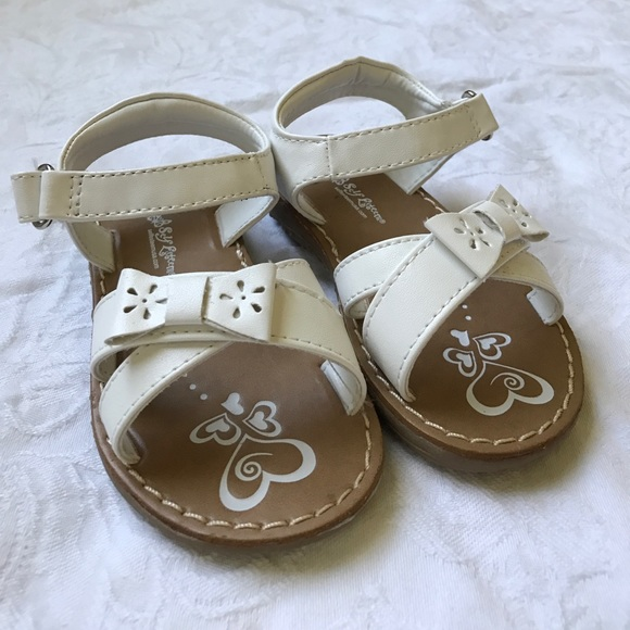 8b3b378e93c97 Self Esteem Shoes | Toddler Girl White Sandals Size 6 | Poshmark