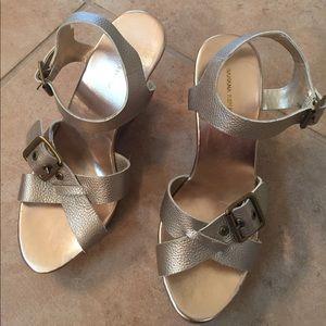 Banana Republic wedge sandal