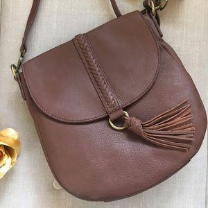 Lucky Brand Handbags - 🆕 Lucky Brand Ali Leather Flap Crossbody Bag