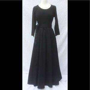 eshakti Dresses & Skirts - New Eshakti Black Fit & Flare Maxi Dress L 14