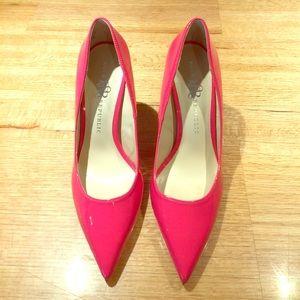 Rock & Republic Shoes - Rock & Republic hot pink heels