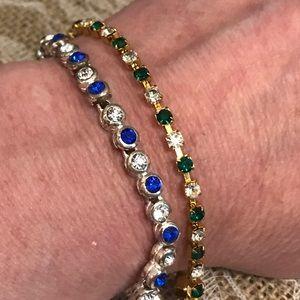 Avon Jewelry - ♨ New Listing ♨ 2 Rhinestone Bracelet Bundle