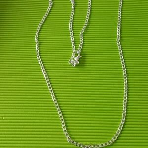 Sterling silver jewelry chain 24 inch