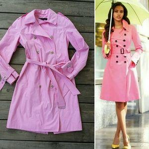Anne Klein Jackets & Blazers - Pink trench coat