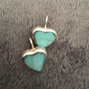 Jewelry - 💥FINAL Reduction💥 .925 SS  & turquoise earrings