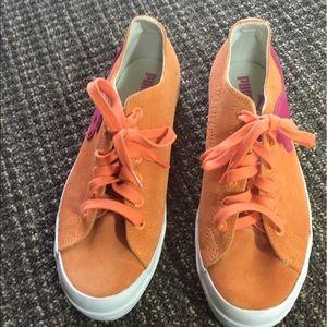 Puma Shoes - Pumps Orange & Pink Sneakers