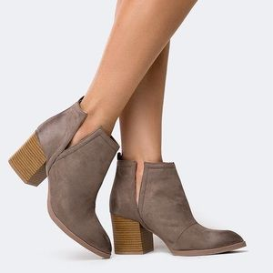 Tilly's Shoes - Qupid Ankle Booties