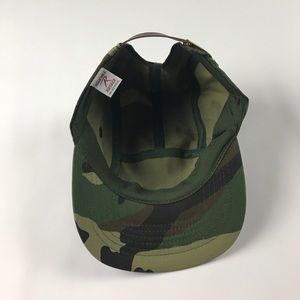 5d5facdf5e148 Rothco Accessories - New Rothco Camouflage 5 Panel Leather Strap Hat