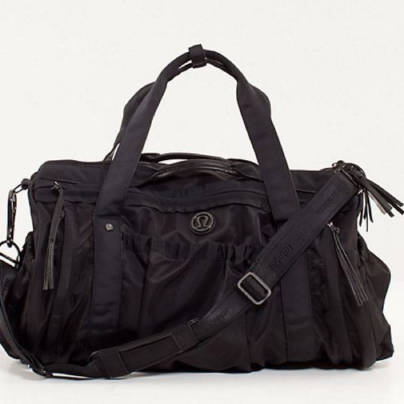 50ad6af2f813 lululemon athletica Handbags - Lululemon Keep On Running Duffel Bag - Black