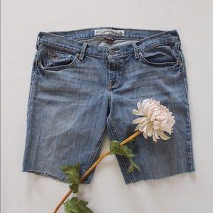 Hollister Pants - Hollister Denim Juniors Cut-off Shorts