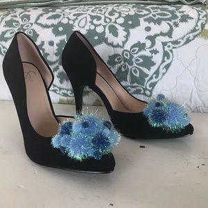 Soda Shoes - Custom Pom Pom Heels