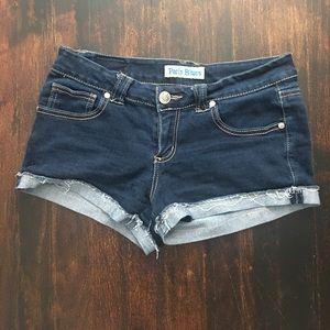 Paris Blues Pants - Paris blue shorts