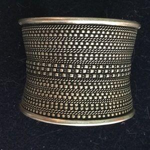Jewelry - SALE Unusual Tribal Cuff Bracelet