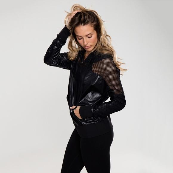 Rese Activewear Jackets & Blazers - Barre Yoga Jacket Justine Windbreaker (923-B)