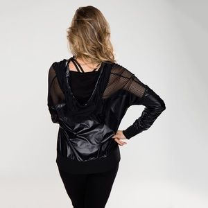 Rese Activewear Jackets & Coats - Barre Yoga Jacket Justine Windbreaker (923-B)